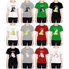 HEAD CASE DESIGNS RAINBOW PUKE T-SHIRT FOR WOMEN