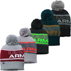 2017 Under Armour ColdGear Retro UA Pom Pom Beanie Mens Golf Winter Bobble Hat