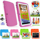 NEW Quad Core 7'' Tablet 8GB Android 5.1 KitKat Dual Camera WiFi for Kids Gift