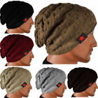 New Unisex Mens Winter Warm Skull Knit Beanie Oversize Baggy Wool Cap Women Hats