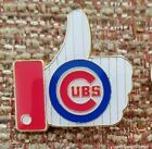 """CHICAGO CUBS """"LIKE"""" Thumbs Up Lapel PIN"""