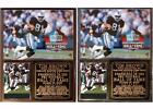 Tim Brown #81 Pro Football Hall of Fame Photo Card Plaque Oakland Raiders $26.95 USD