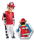 FANCY DRESS COSTUME ~ BOYS PAW PATROL MARSHALL CHILDS OUTFIT AGES 1-4 YEARS
