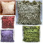 Home Sofa Decoration Throw Pillow Case Cushion Cover Ribbon Leaves Leaf Hot