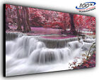Over Flowing Panoramic Canvas Print Modern Art 4 Sizes to Choose Ready to Hang