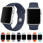 Replace Soft Silicone Bracelet Strap Band WatchBand Fr Apple Sports Watch 1 2 US