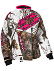 CastleX Womens AP White/Hot Pink/Black Launch G4 Snowmobile Jacket Snocross