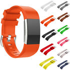 Fashion Sport Silicone Wrist Watch Bands For Fitbit Charge 2 Replacement Strap