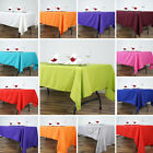 RECTANGULAR Polyester Tablecloths Restaurant Catering Home Party