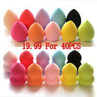 40x Makeup Foundation Sponge Blender Blending Puff Flawless Powder Smooth Beauty