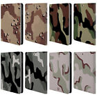 HEAD CASE DESIGNS MILITARY CAMO LEATHER BOOK CASE FOR APPLE iPAD MINI 1 2 3