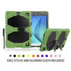 "Samsung Galaxy Tab E 9.6"" Case Shockproof Military Heavy Duty Rubber Kickstand"