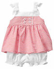 NWT Gymboree Gazebo Party Striped Sailor Bloomer Outfit Set 2PC Baby Girl