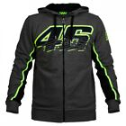 2016 Official Valentino Rossi VR46 Grey Hoodie Fleece .  VRMFL 205222