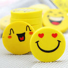4pcs Bag Yellow Smiley Face Erasers Bag Fillers Pinata Rewards Pick Your Amount