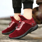 New Men's Casual Running Shoes Sports Breathable High Top Sneakers Keep warm