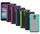 For ZTE Kirk Z988 Case ShockProof Hybrid Dual Layer Armor Protective Phone Cover