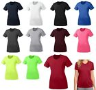 WOMEN'S WICKING PERFORMANCE T-SHIRT, CREWNECK, SHORT SLEEVE XS S M L XL 2X 3X 4X