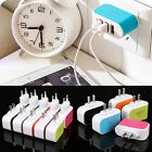 3-Port USB Wall Home Travel AC LED Power Charger Adapter 3.1A For iPhone 6 EU/US