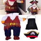 Dog Pirate Outfit Cat Captain Clothes Coat Cloak Pet Puppy Cosplay Fun Costume