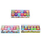 12x New Smile Smiley Face Stamps Set Stationery Kids Gift Party Toy Art Craft SE
