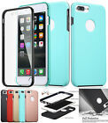 2017 New Hybrid 360° Protective Bumper Shockproof Slim Case Cover for iphone 7/+