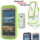 Diving Swimming Waterproof Dustproof Shockproof Phone Case Cover For HTC ONE M9