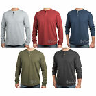 NWT Levi's Men's Long Sleeve 3 Button Classic Fit Soft Warm Thermal Henley Shirt