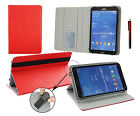 """Stylish Pu Leather Multi Angle Wallet for Various 7"""" - 8"""" inch Tablets & Stylus"""