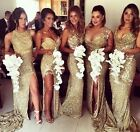 bridesmaid dresses in gold -  2017 bridesmaid different style sleeveless sister dress delivery in 16 days
