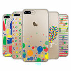 HEAD CASE DESIGNS RAINBOW MADNESS SOFT GEL CASE FOR APPLE iPHONE 7 PLUS / 8 PLUS