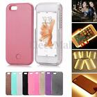 LED White Light Up Luminou Selfie Phone Case Cover For iPhone 5 6 6S Plus 7 Plus