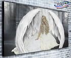 Heavenly Angel Panoramic Canvas Print Modern Art 4 Sizes to Choose Ready to Hang