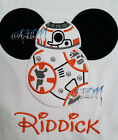 Personalized BB8 T-shirt machine embroidered