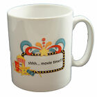 Movietime Cinema Popcorn Mug Family Office Kitchenware Dishwasher Proof Cup Gift