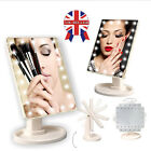 Cosmetic Make Up Vanity Illuminated Table Makeup Stand Mirror with 22 LED Light