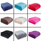 CATHERINE LANSFIELD SUPER SOFT MINK SOFA BED THROW COVER BEDSPREAD BLANKET