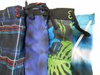 NWT men's Speedo swim trunks S M L assort multi pockets net inner liner poly $56