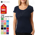 Next Level Women's 100% Cotton Perfect Scoop Neck T-Shirt M-