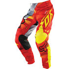 Fox MX Kids PeeWee 180 Pants - Radeon Red/Yellow Motocross DIrt Offroad