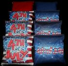 Custom Patriotic Forth of July Fireworks ACA regulation custom Cornhole bags B97