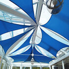 Square Sun Shade Sail Canopy Awning Patio Pool Cover Top Outdoor UV Custom Size