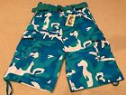 NWT Men's Member's Property Teal Blue Camouflage Camo Belted Cargo Shorts 36-42