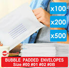 Bubble Padded Bag Post Envelope White Printed Blank Envelopes Bulk 100 200 500