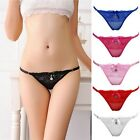 New G-string Panties Lace Thongs V-string Underwear Knickers Lingerie Women