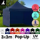 New Wallaroo 3x3m Pop-up Outdoor Gazebo Market Tent Shade Folding Canopy Event