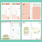 A5/A6 Colourful Week/Month/To Do Planner Diary Insert Refill Schedule Organiser