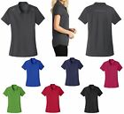 LADIES LIGHTWEIGHT, ZIP PLACKET, SHORT SLEEVE, PERFORMANCE POLO SHIRT, XS-4XL