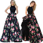 Casual Women Lady Gown Long Dress Floral Beach Maxi Evening Cocktail Party New