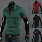 Magic Coming Summer Men's Casual Polo Tee T-Shirts Basic Tee Tops Sales Champion
